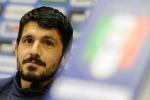 """""""Voglio un Napoli senza paura"""", Gattuso in vista del match contro il Barcellona"""