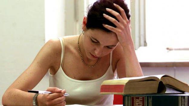 esami di stato, maturità, pollini, stress, Sicilia, Archivio, Cronaca