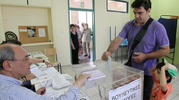 elezioni grecia, Sicilia, Archivio, Cronaca