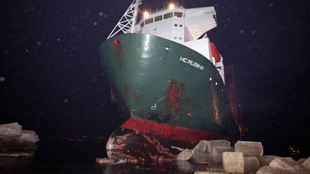 hc rubina, naufragio, stretto di messina, Messina, Archivio