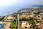 L'area industriale di Saline Joniche