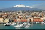 Catania con vista etna