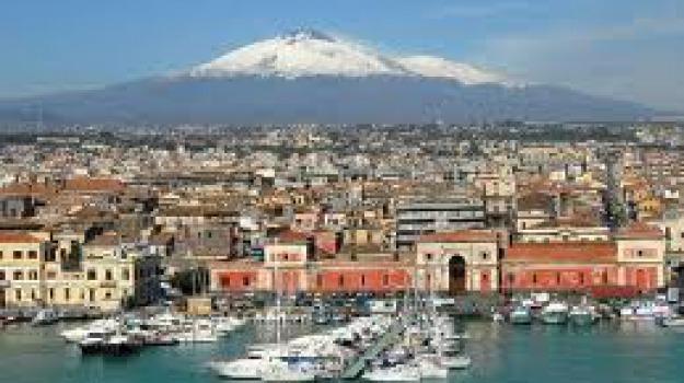 eruzione etna, Sicilia, Archivio