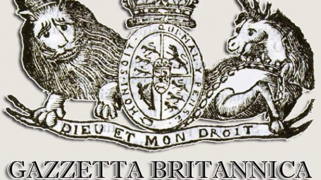 gazzetta britannica, messina, sicilia, Messina, Archivio