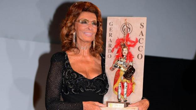sophia loren, taormina film fest, Sicilia, Archivio, Cultura