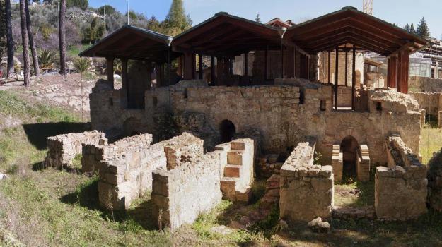 piazza armerina, restauro, villa del casale, Sicilia, Archivio