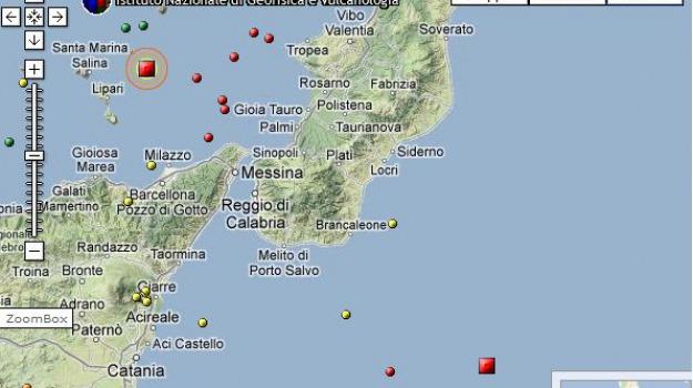 terremoto calabria, terremoto eolie, Calabria, Archivio