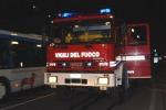 Vento forte e incendi a Cirò Marina, complesso l'intervento dei soccorritori