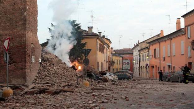 cellula terremoto, de masi, Catanzaro, Reggio, Calabria, Archivio