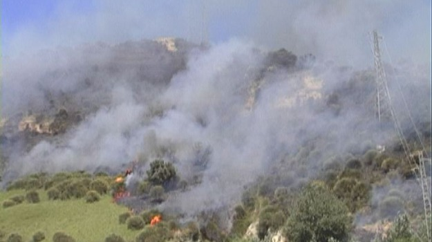 incendio s.demetrio, Cosenza, Calabria, Archivio