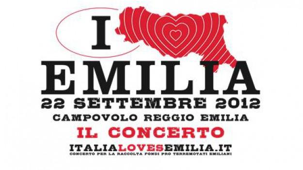 campovolo, concerto, per l'emilia, Sicilia, Cultura