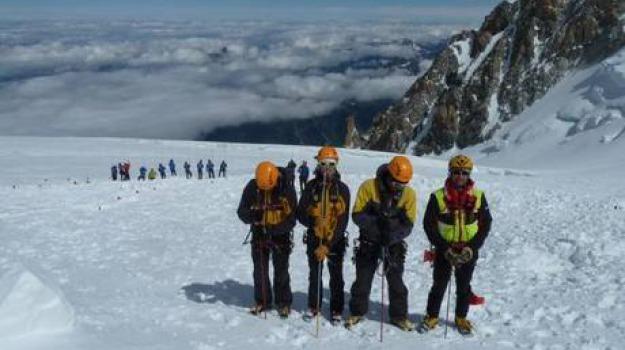 alpinisti, monte bianco, morti, Sicilia, Archivio