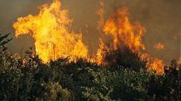 castelmola, incendi, Messina, Archivio