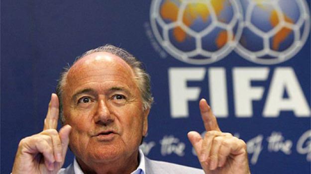 calcio, fifa, Joseph Blatter, Sicilia, Sport