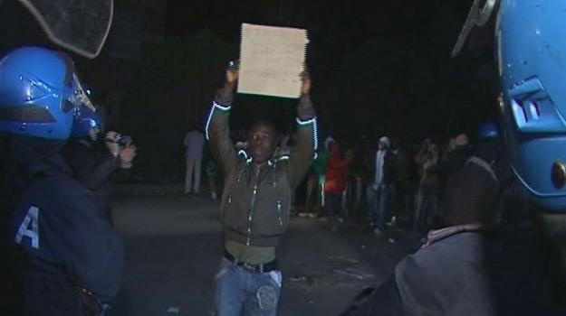 protesta immigrati, Calabria, Archivio