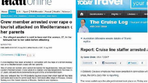 fbi, turista, violenza sessuale, Messina, Archivio