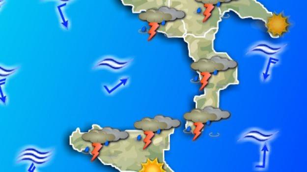 calabria, maltempo, pioggia, sud, Calabria, Archivio