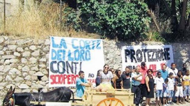 protesta riace, rifugiati, Reggio, Cosenza, Calabria, Archivio
