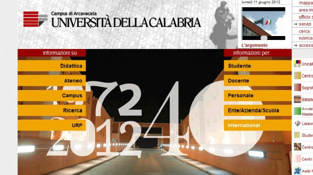 falsi esami, unical, Cosenza, Calabria, Archivio