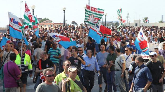 protesta precari, Reggio, Archivio