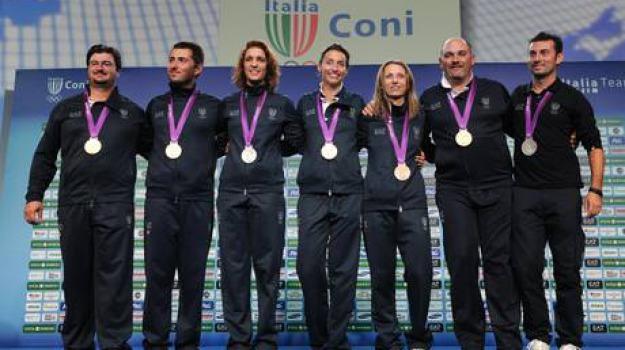 cinque medaglie, italia, olimpiadi, Sicilia, Archivio, Sport