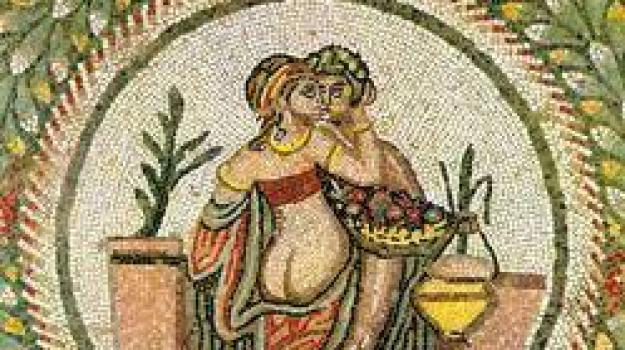 piazza armerina, villa romana del casale, Sicilia, Archivio