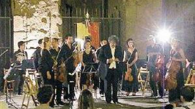 baronello, orchestra, papa, Messina, Cultura