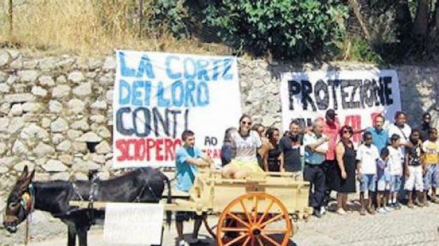 riace, rifugiati protesta, Reggio, Calabria, Archivio