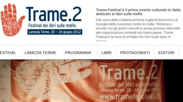 festival, nyt, trame, Catanzaro, Calabria, Archivio