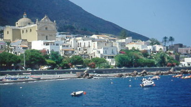 salina, turista, Messina, Sicilia, Archivio