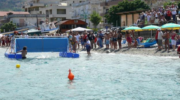 simone ercoli, traversata stretto, Reggio, Messina, Sport