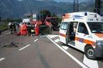 Incidente stradale due morti e un ferito