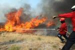 Incendi: brucia riserva Zingaro nel trapanese