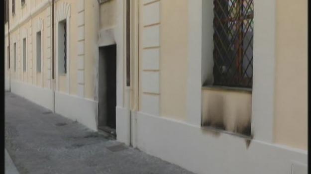 caserma, cc, incendio, Cosenza, Calabria, Archivio