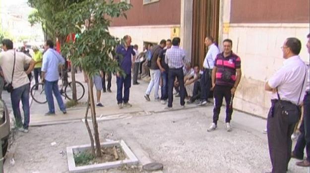 arssa, protesta lavoratori cosenza, Cosenza, Calabria, Archivio