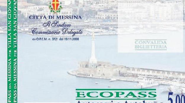 ecopass, Messina, Archivio