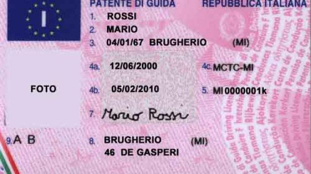 patente guida, pensionato, Sicilia, Archivio, Cronaca