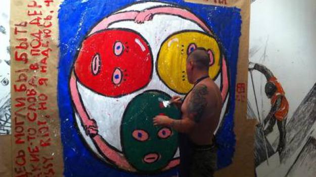 arte sulle barricate, pussy riot, Sicilia, Archivio