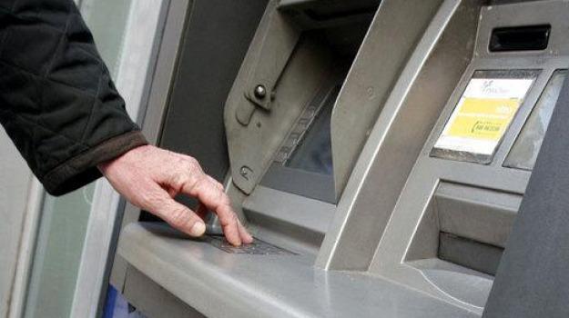 bancomat, rapina, santa teresa, Messina, Sicilia, Archivio