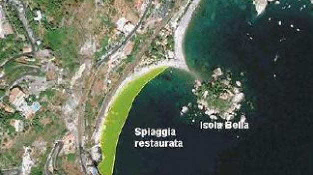 erosione, isolabella, taormina, Messina, Archivio