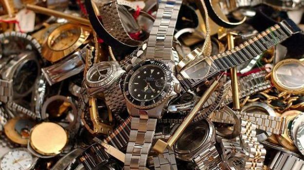 contraffazione, orologi, pozzallo, Sicilia, Archivio