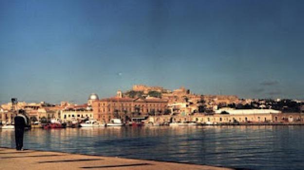 milazzo, porto, Messina, Archivio