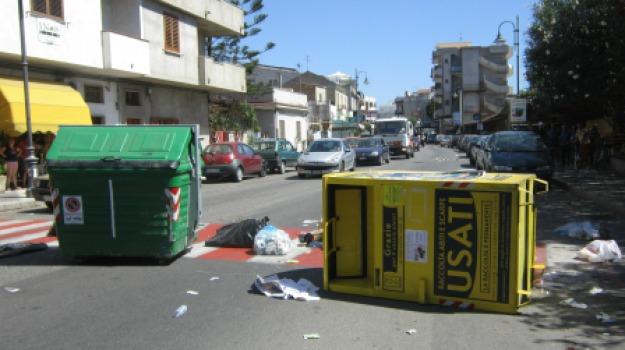 protesta migranti, statale 106, Reggio, Calabria, Archivio