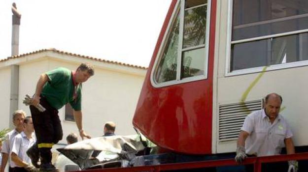 auto, morta, napoli, ragazza, travolta, treno, Sicilia, Archivio, Cronaca