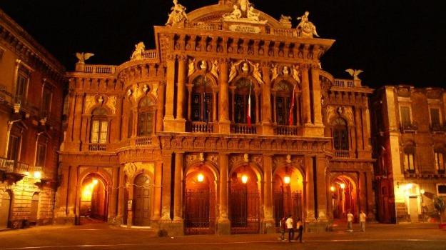 teatro bellini, Sicilia, Archivio