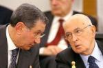 Distrutte intercettazioni di Napolitano