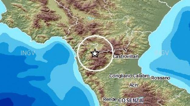 pollino, terremoto, Cosenza, Calabria, Archivio