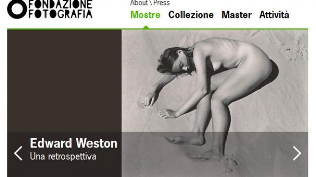 edward weston, modena, mostra, ospedale sant'agostino, Sicilia, Archivio