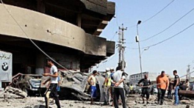 attentati, baghdad, balad, iraq, soldati, uccisi, Sicilia, Archivio