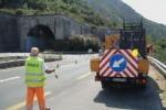 Lavori sulla Messina-Catania dopo i danni causati dal maltempo